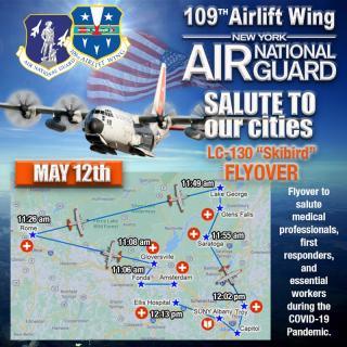 "LC-130 ""Skybird"" Flyover ~ May 12, 2020"